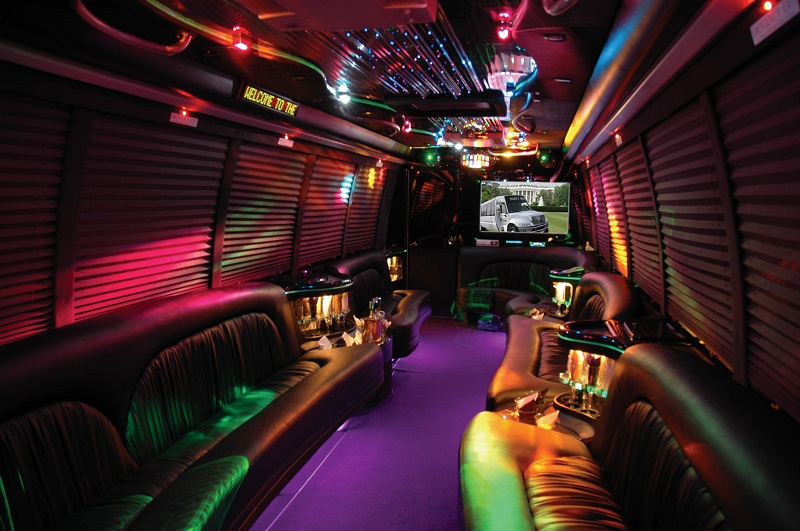 How big party bus you need