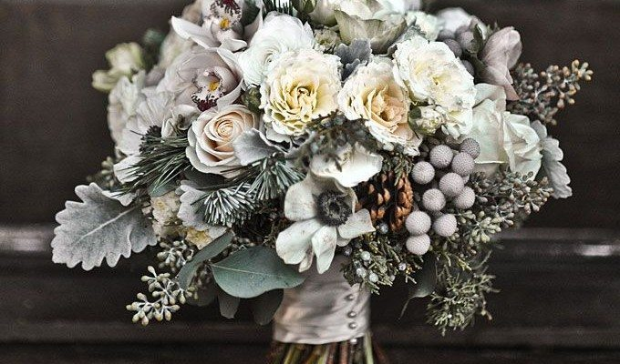 Winter Wedding Flowers We Love