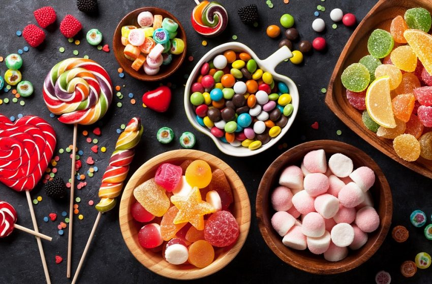Top 5 Yummiest Colourful Candies