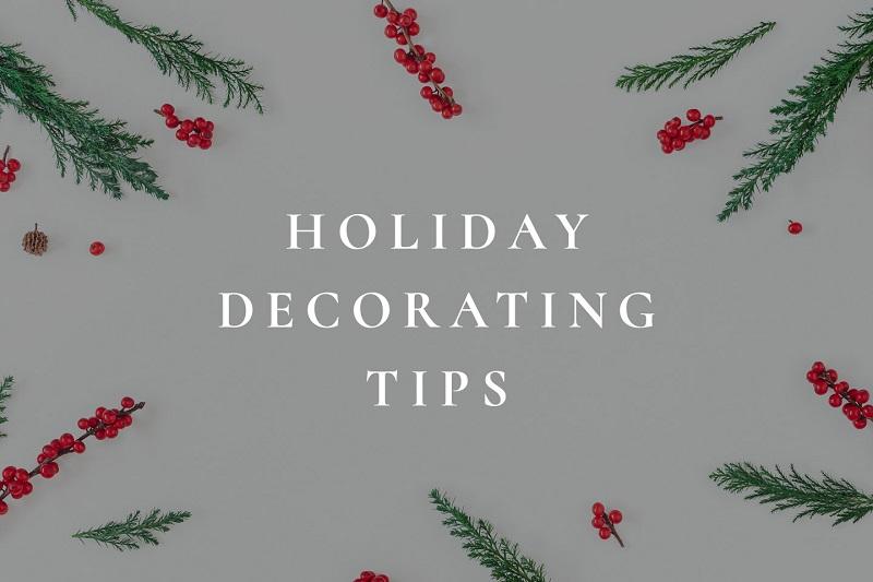 Holidays Decorating Tips