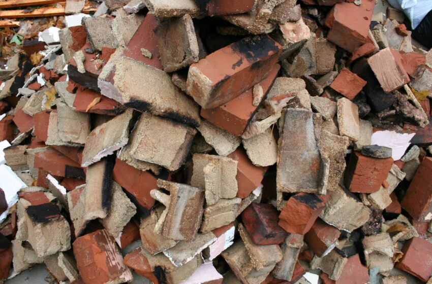 Construction Waste Disposal of Bricks