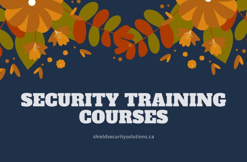 Overview of Cyber Security Training Courses