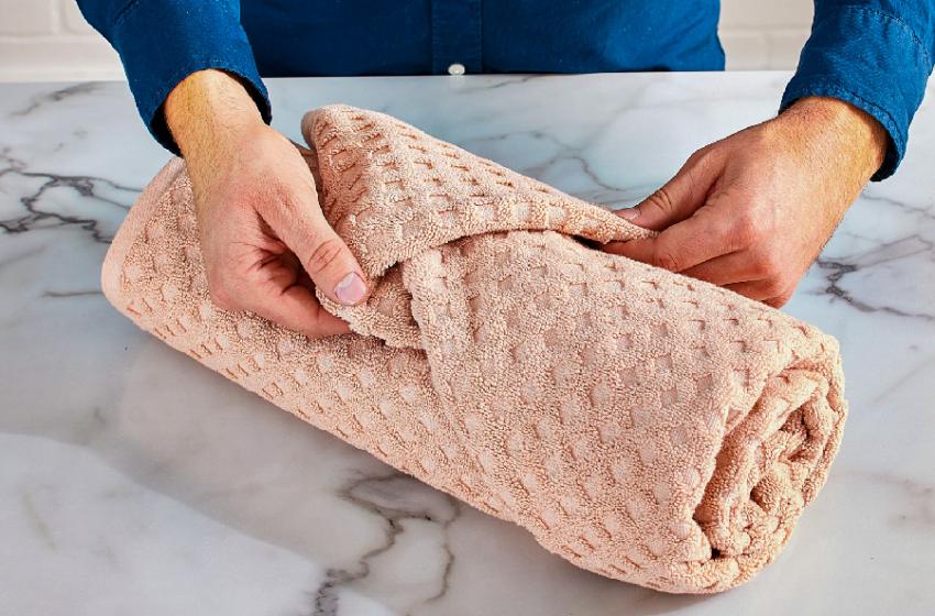 How To Fold Towels Like A Luxury Hotel